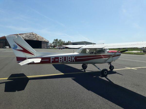 Cessna 150 de l'aéroclub du Poitou